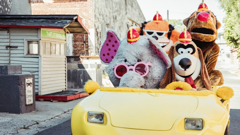 "Not for kids, ""The Banana Splits Movie"" offers a twisted and violent take on the classic TV series on Syfy."