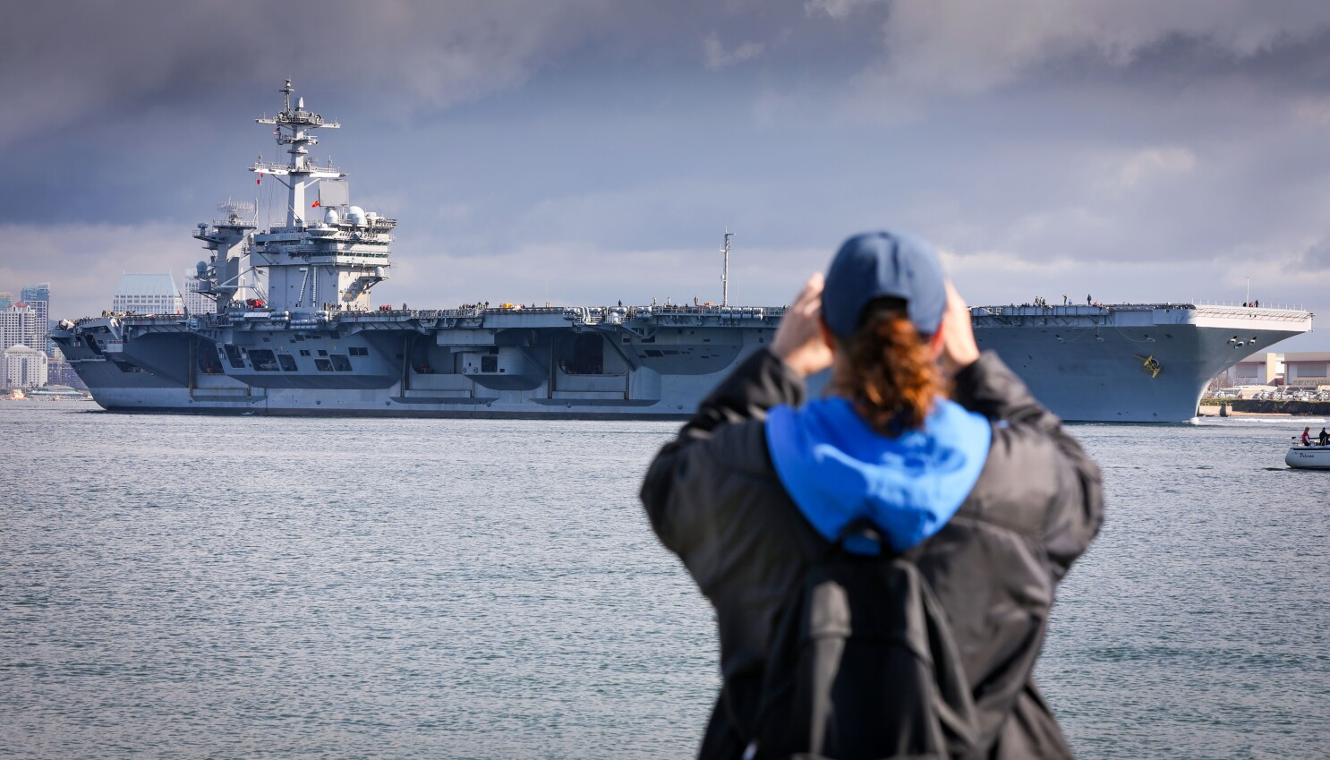 Theodore Roosevelt carrier strike group deploys