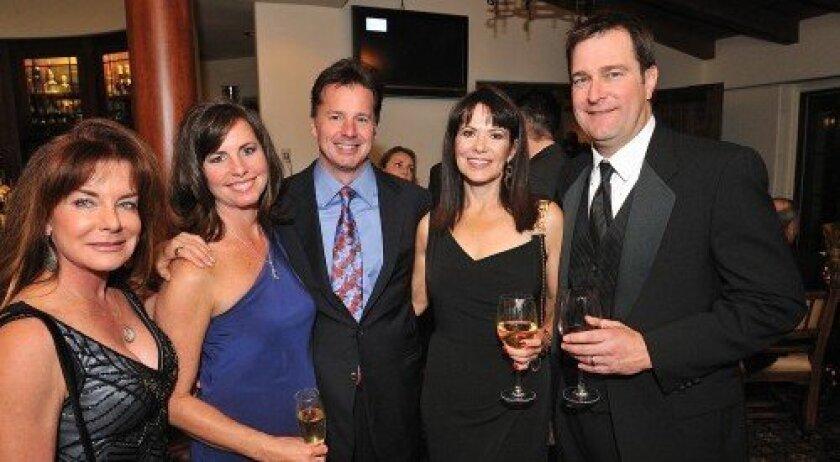 Ellen Greenhill, Kim and Tom Smart, Marlaine and Dudley Fetzer (Photo/Jon Clark)