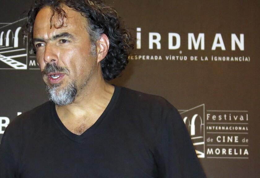 En esta fotografía del 17 de octubre de 2014 el director mexicano Alejandro González Iñárritu