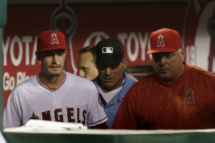 Angels place Andrew Heaney on disabled list