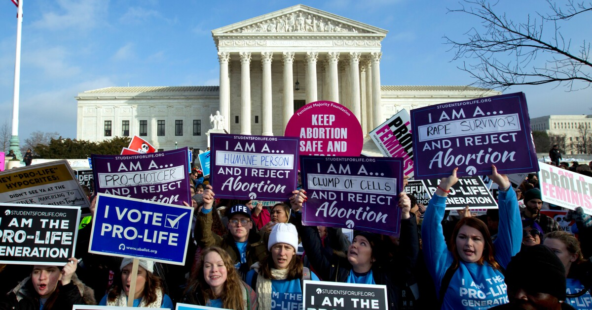 Trump administration moves against California on abortion coverage by health plans