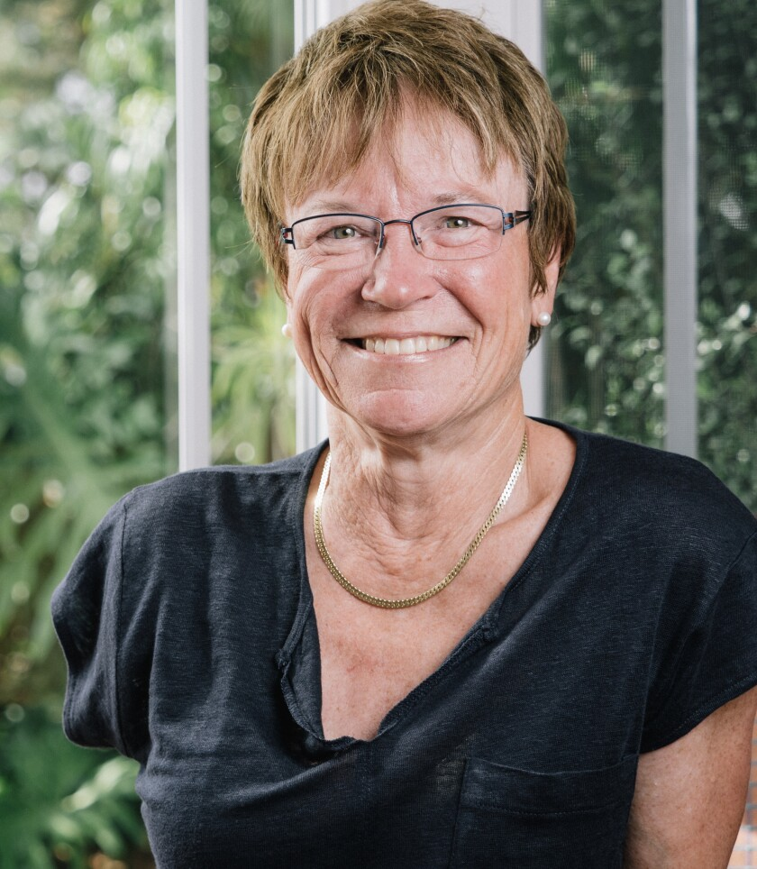 La Jolla resident Linda Olson writes about success and teamwork after an accident left her a triple amputee in her memoir.