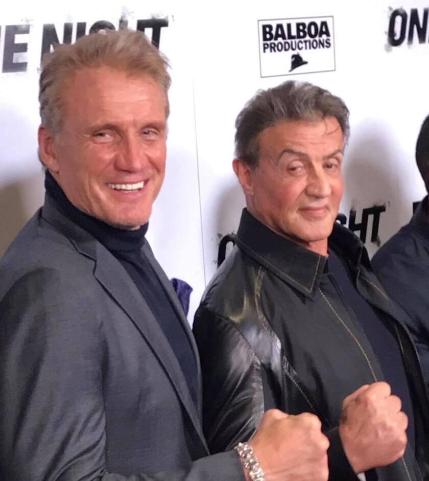 Actores de la cinta Rocky IV eligen a sus favoritos para la revancha entre Ruiz y Joshua.