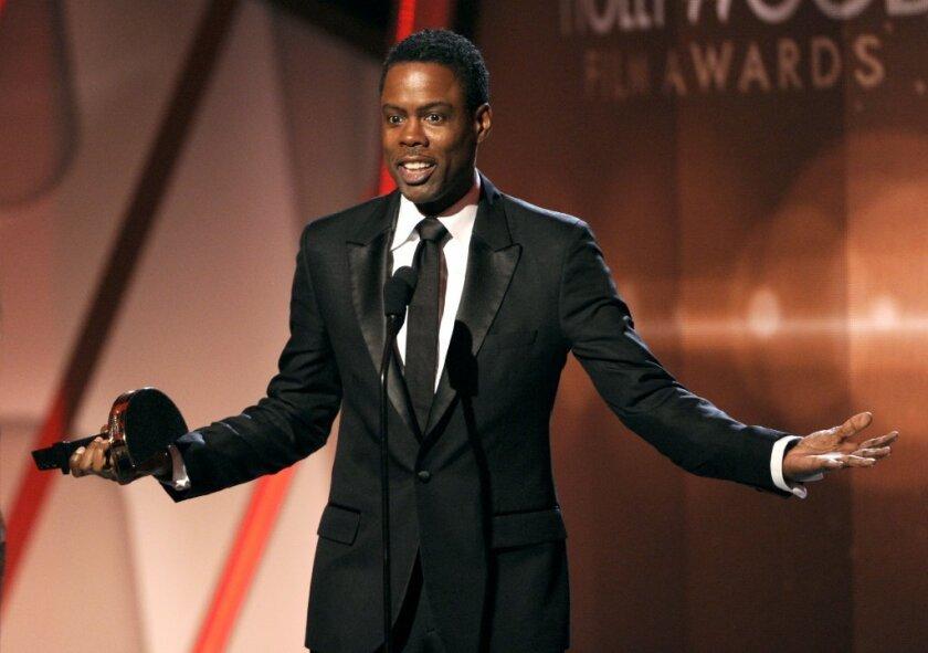 Chris Rock at Hollywood Film Awards