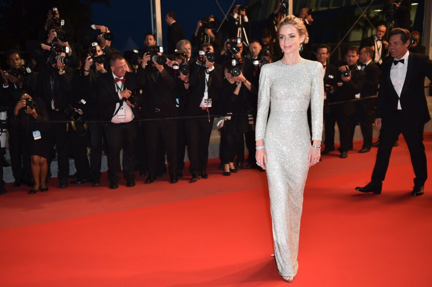 Emily Blunt speaks out against the Cannes Film Festivals alleged mandate for high-heels.