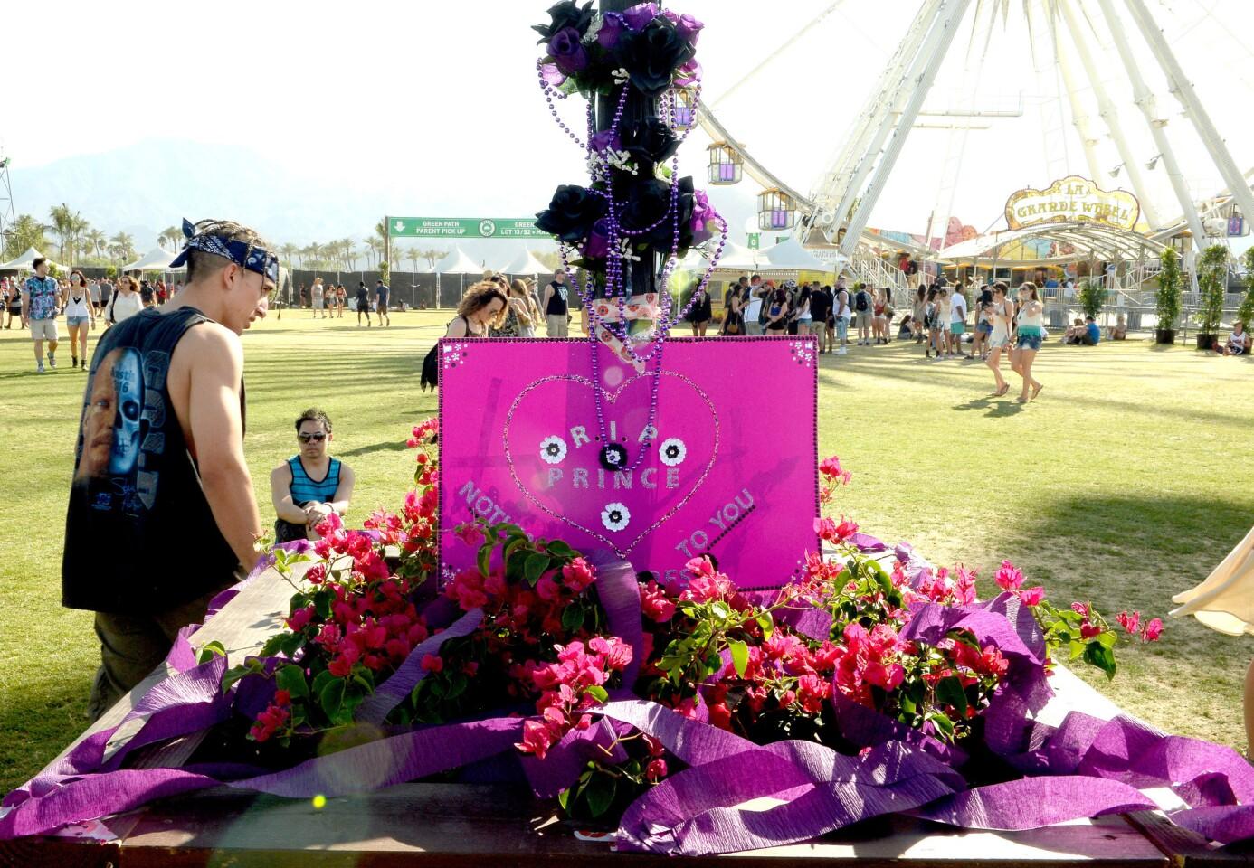 Remembering Prince at Coachella