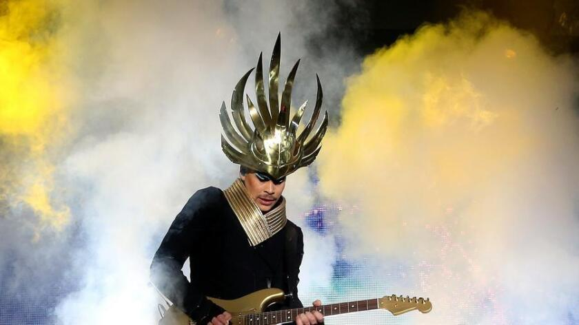 Musician Luke Steele of Empire of the Sun will be performing at CRSSD Fest. (/ Paul Zimmerman/Getty Images)