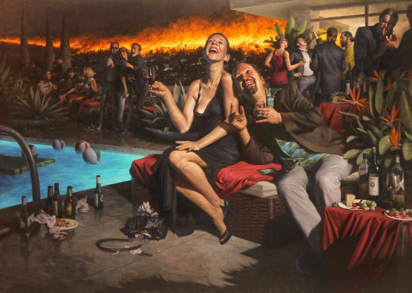 Carl Dobsky at Craig Krull Gallery