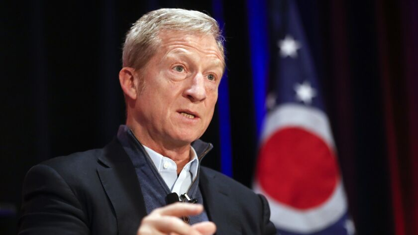 Tom Steyer joins swarm of Democrats running for president
