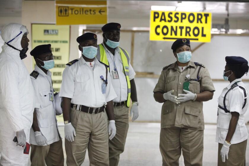Ebola precautions in Nigeria