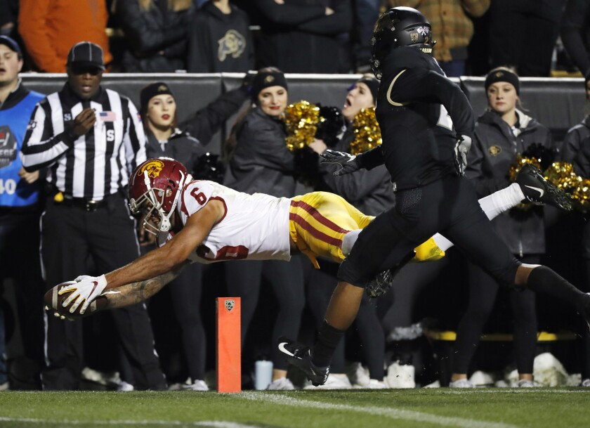APTOPIX USC Colorado Football