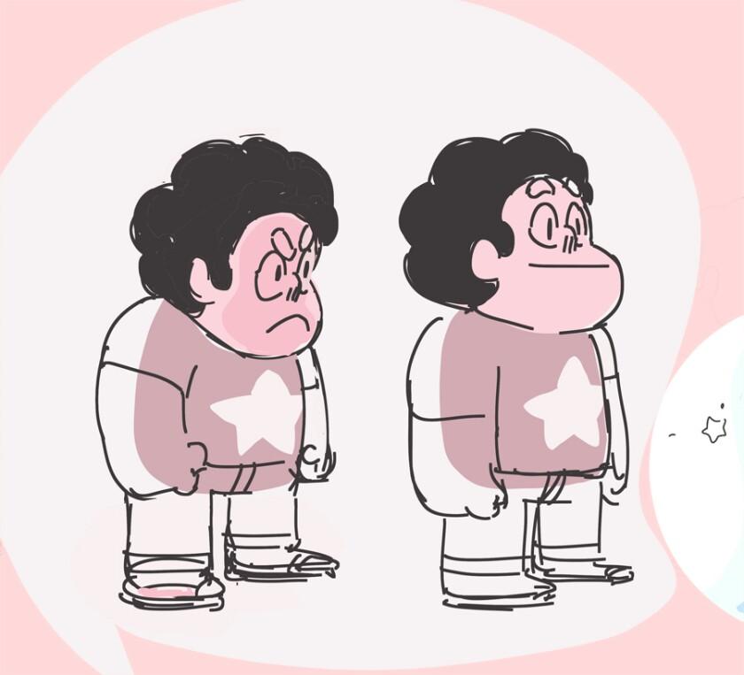 Sketch of Steven Universe