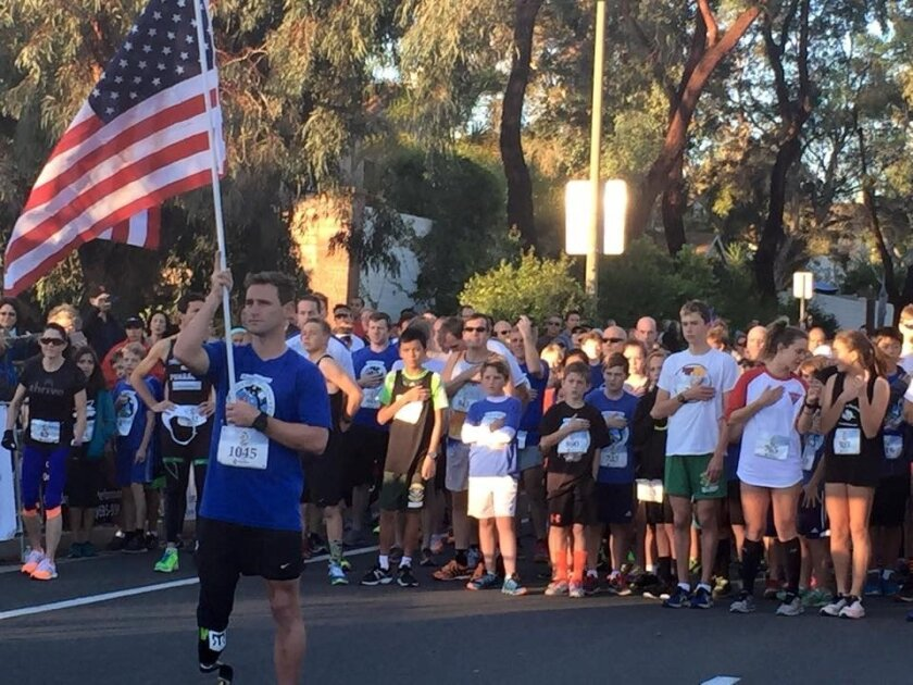 Runners at last year's Carmel Valley 5K. The next race will be Jan. 24, 2016. Courtesy photo