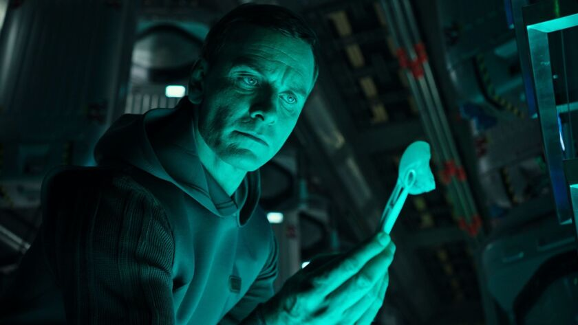 """Michael Fassbender as the android Walter in """"Alien: Covenant."""""""