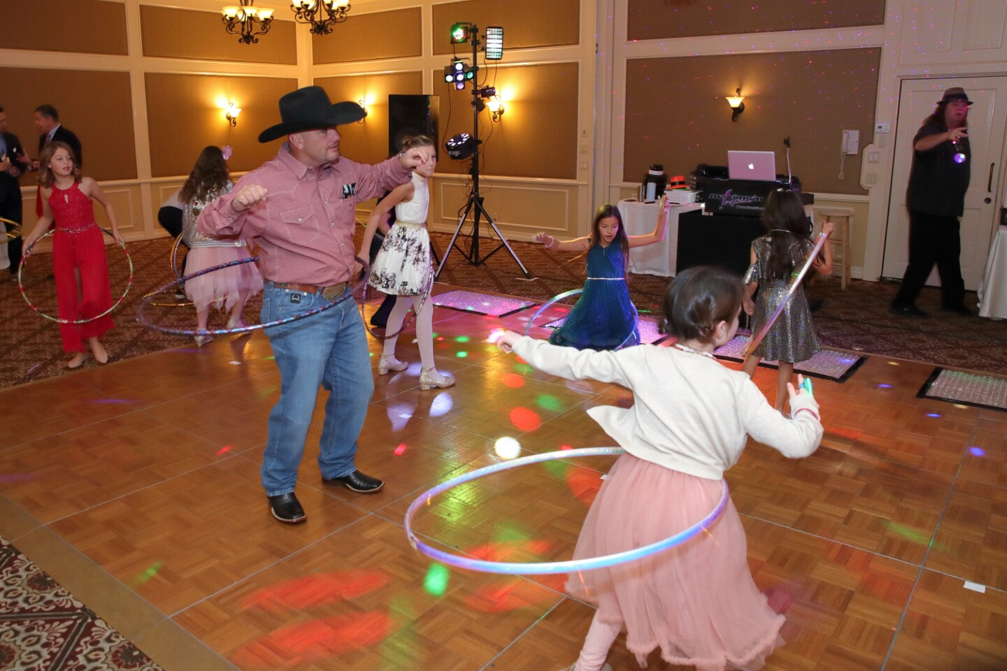 The Rancho Santa Fe Education Foundation hosts a Father-Daughter Dance for R. Roger Rowe families at The Inn at RSF