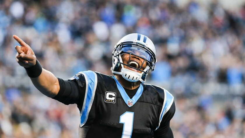 """Cam Newton and the Carolina Panthers play the Denver Broncos in """"Super Bowl 50"""" on CBS."""