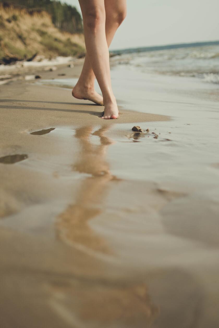 Beach legs.