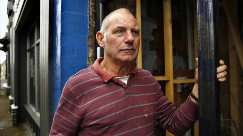 Mel Hutton, age 64, is a former steel worker.