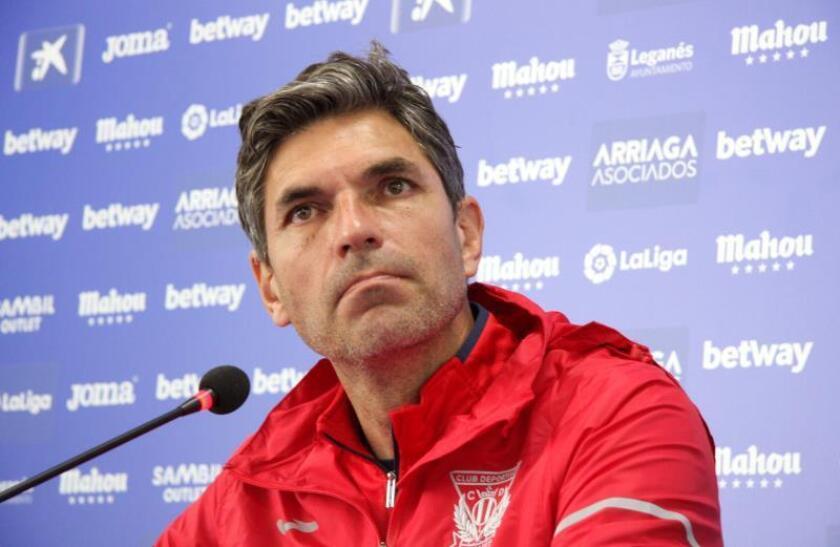 Mauricio Pellegrino, técnico del Leganés. EFE/Archivo