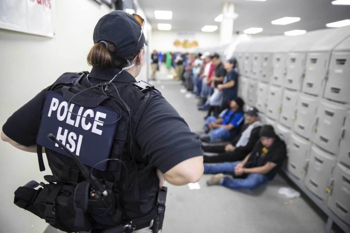 680 detained food processing workers? Thanks for nothing, ICE