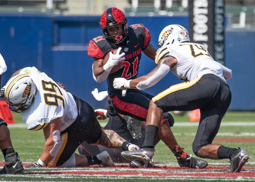 San Diego State ranks second in the Mountain West in both scoring offense and defense.