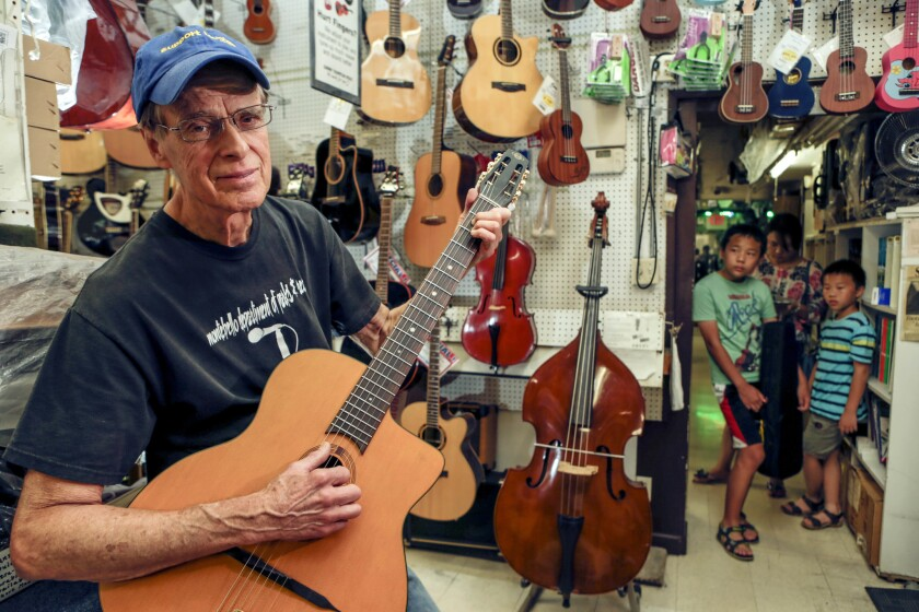 Johnny Thompson said he has no plans to retire, no plans to leave Monterey Park.