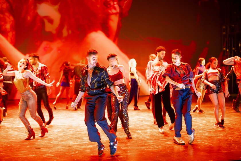 """This """"West Side Story"""" subbed out Jerome Robbins' choreography in favor of movement by Anne Teresa De Keersmaeker that is more streetwise. Patricia Delgado and Sergio Trujillo reportedly were brought in to refine the dance language further."""