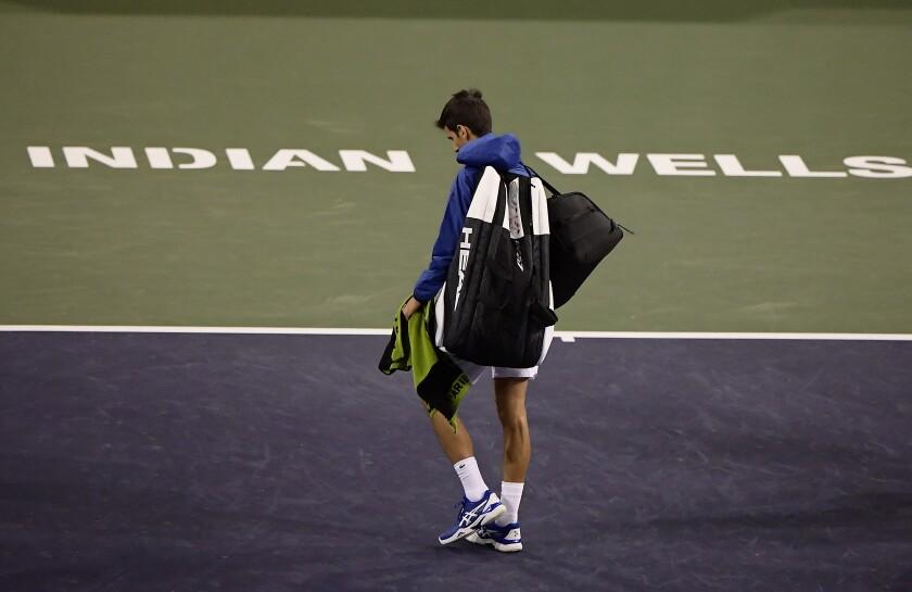 Indian Wells Postponed Tennis