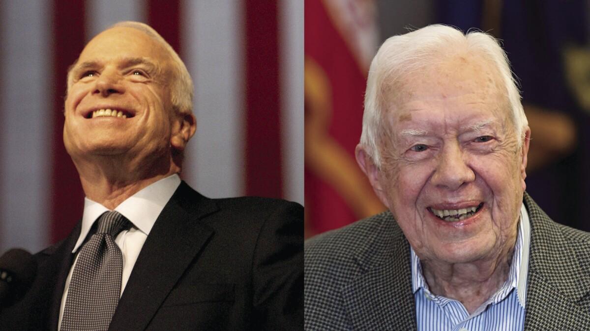www.carterus.fr activation de la carte Both John McCain and Jimmy Carter had brain tumors. Why did their