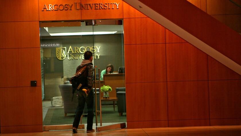 Argosy University, 225 North Michigan Avenue, Thursday, Jan. 6, 2011. (E. Jason Wambsgans/ Chica