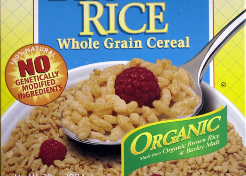 Proposition 37 calls for labels on all food made with altered genetic material.
