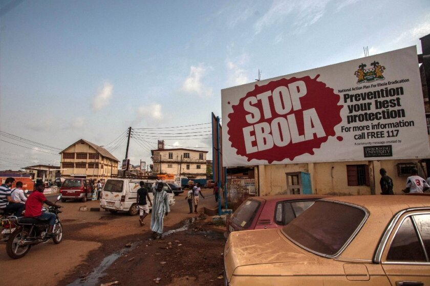 One way to improve one's chances of surviving Ebola: to be infected with malaria at the same time, new research indicates.