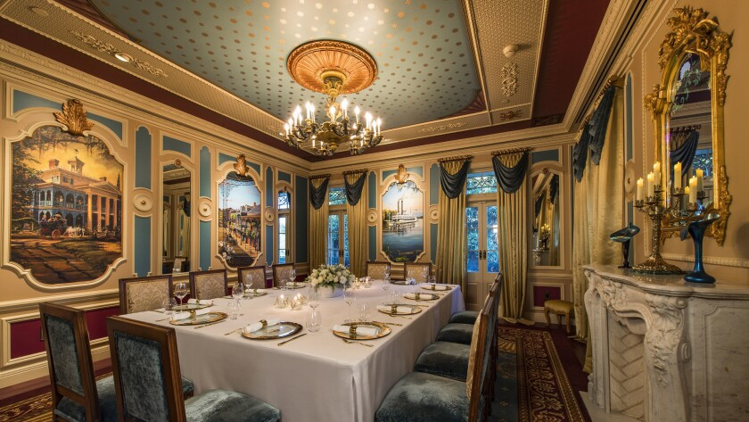 Disneyland's new dining room, 21 Royal, features luxury meals for up to 12 guests at a price tag of $15,000.