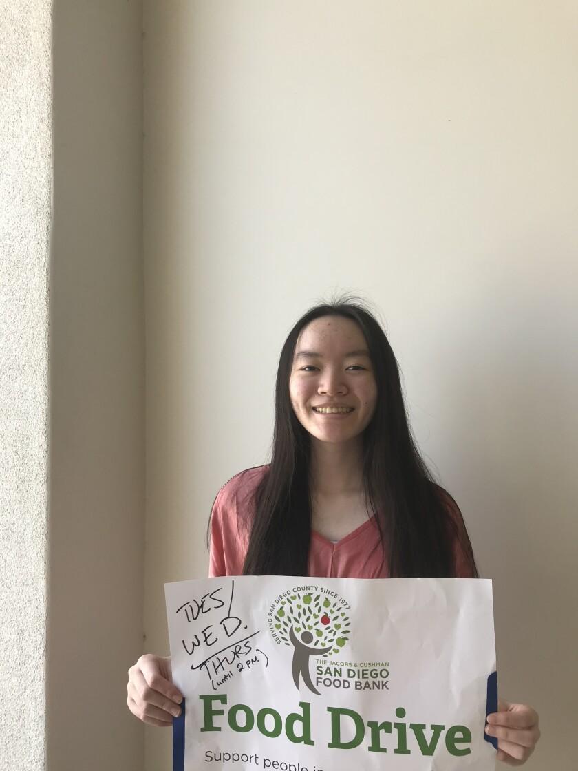 CCA senior Audrey Chyung