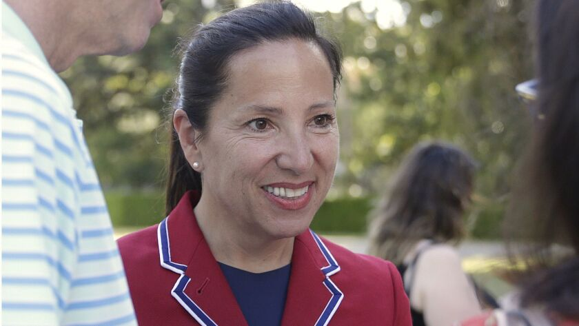 Lt. Gov.-elect Eleni Kounalakis won a Democrat-versus-Democrat race in which just 82% of all ballots cast in November had a mark beside the name of one of the candidates. In the two prior elections, where a Republican was also listed, 95% of ballots had a vote cast for the job.