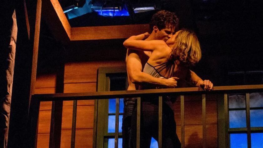 """Connor Sullivan and Lisel Gorell-Getz in """"Sex With Strangers."""" (Daren Scott)"""