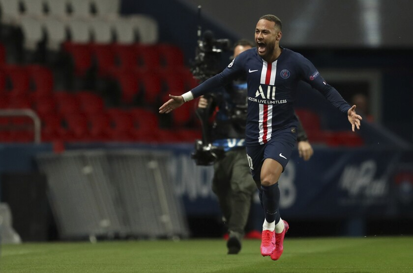 France Soccer Champions League Virus Outbreak