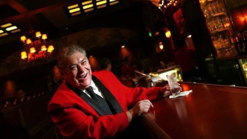 HOLLYWOOD, CA-- DECEMBER 30, 2009-- Ruben Rueda, 59, started working at the Musso and Frank Grill in