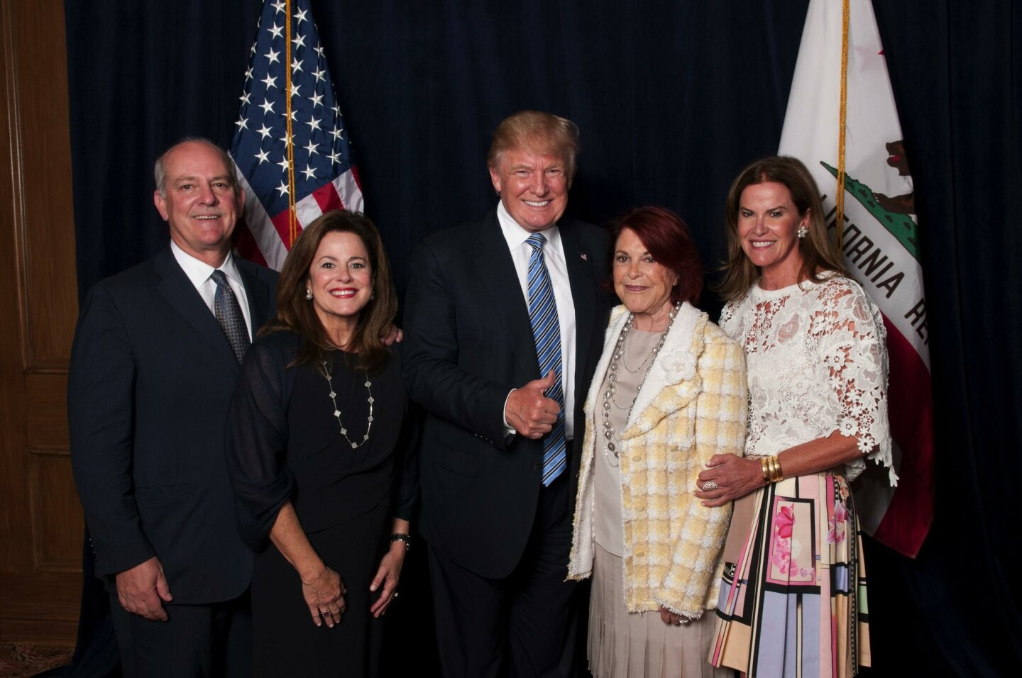 Peter and Denise Merlone, Donald Trump, Jenny Craig, Michelle Weinger