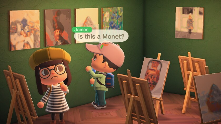 """You can now add art from the Getty Museum's online collection to """"Animal Crossing."""""""