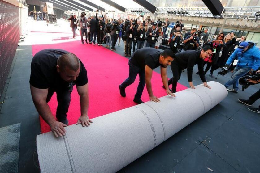 Academia de Hollywood despliega la alfombra roja a cuatro días para los Óscar