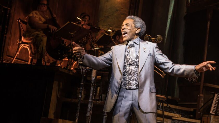"Andre De Shields in ""Hadestown."""