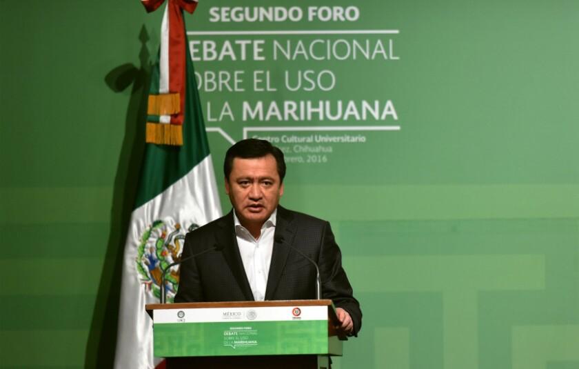 Miguel Ángel Osorio negó que durante la visita del papa Francisco a Ciudad Juárez los narcotraficantes hubieran pactado una tregua de 12 horas, tal y como afirmó el pontífice en su regreso a El Vaticano.