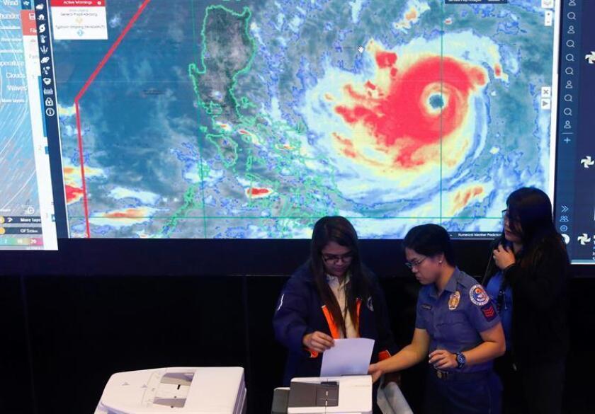 Trump declara desastre en las Islas Marianas del Norte por el tifón Mangkhut