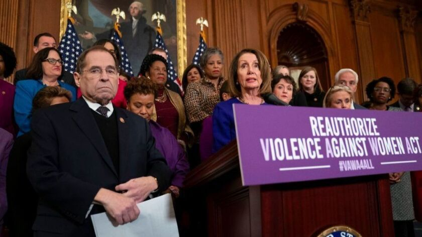 House Judiciary Committee Chairman Jerrold Nadler (D-N.Y.), left, and House Speaker Nancy Pelosi.