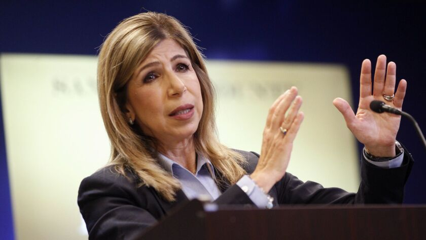 San Diego County District Attorney Summer Stephan, shown here in September, was among a group of prosecutors who sued a dating site parent company over automatically renewing customer payments without their consent.