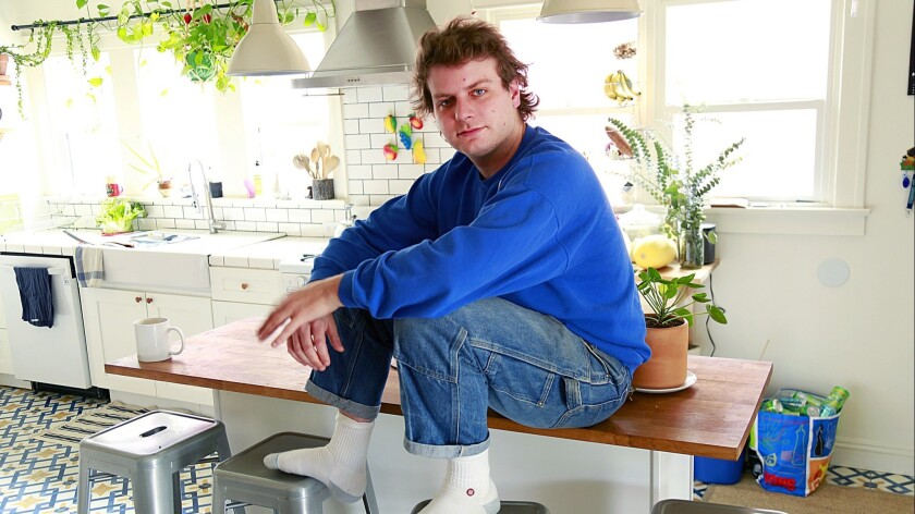 LOS ANGELES, CA., MARCH 11, 2019 --Singer and songwriter Mac DeMarco is an unlikely star, an average