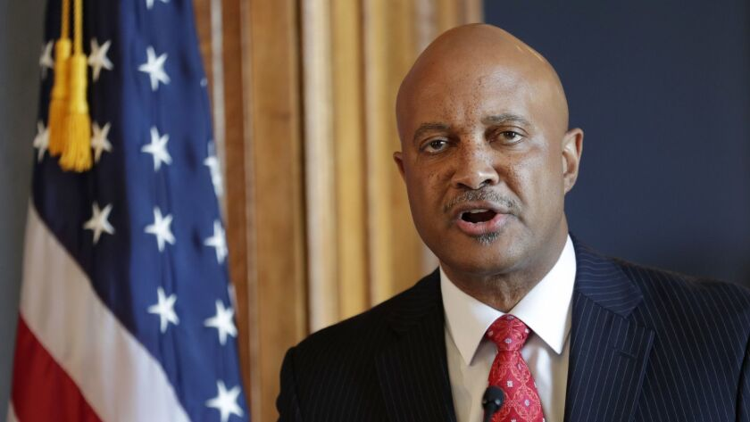 "Indiana Atty. Gen. Curtis Hill is rejecting calls to resign, saying that his name ""has been dragged through the gutter"" over allegations that he drunkenly groped a lawmaker and three other women."