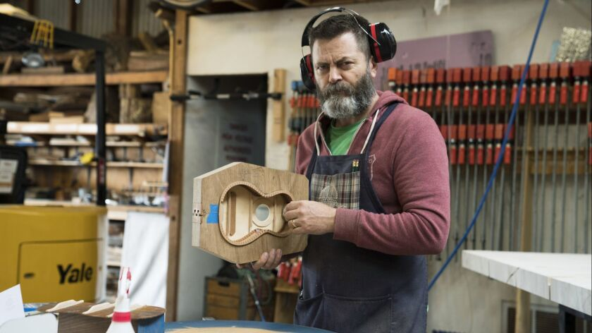 Woodworker Nick Offerman Shares Mariage Gironde